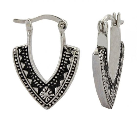 Montana Silversmiths Southwestern Arrowhead Earrings