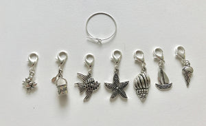 Seaside Stitch Markers