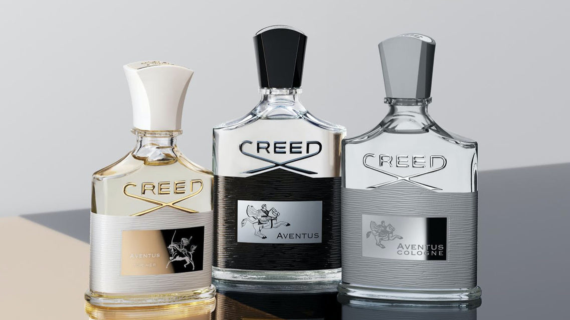 HAND MADE IN FRANCE FROM ENGLAND ONE OF THE OLDEST PERFUME BRANDS IN THE WORLD. CREED PERFUMES