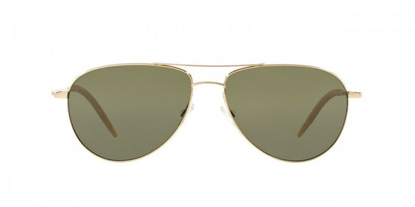 Oliver Peoples Benedict in Gold + G-15 Polar Glass