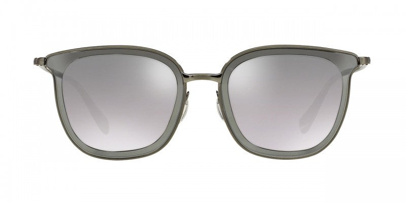 Oliver Peoples Annetta in Pewter + Graphite/Silver Flash Gradient Mirror
