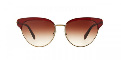 Oliver Peoples Josa in Ruby/Gold + Spice Brown Gradient