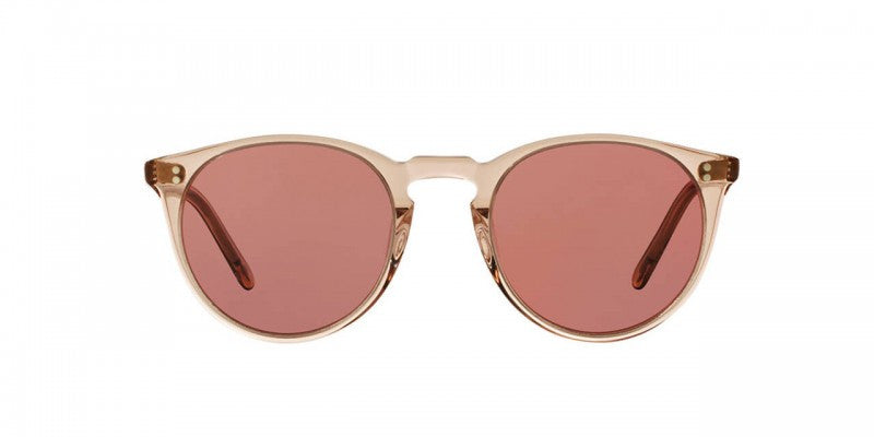 Oliver Peoples The Row O'Malley NYC in Translucent Amber + Purple Photochromic Mineral Glass