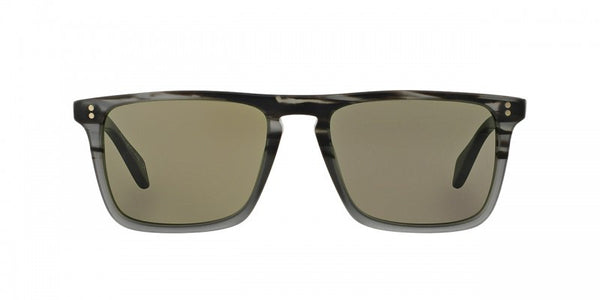 Oliver Peoples Bernardo in Matte Storm + Central Grey Mineral Glass