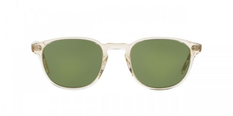Oliver Peoples Fairmont Sun in Buff + Green C Mineral Glass