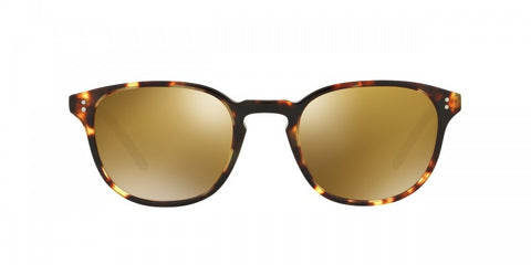 Oliver Peoples Fairmont Sun in VDTB + Gold Mirror Glass