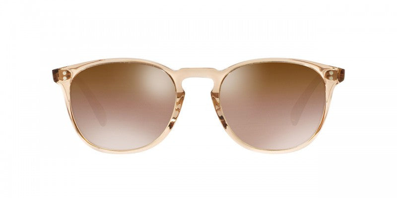 Oliver Peoples Finley Esq. Sun in Blush + Rose Quartz Mirror Glass