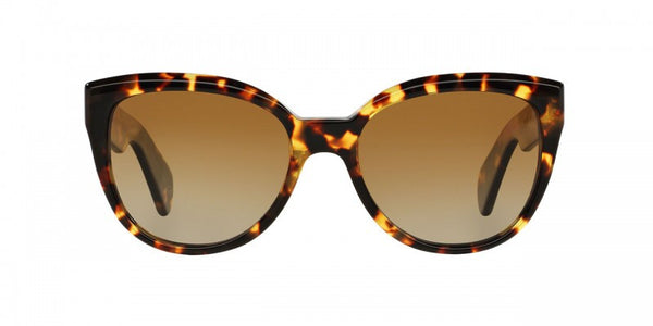 Oliver Peoples Abrie in Vintage Dark Tortoise Brown + Brown Gradient Polar
