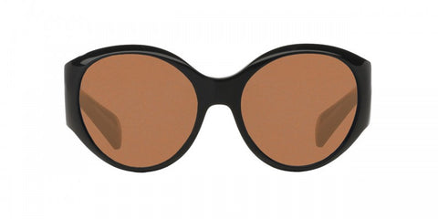Oliver Peoples The Row Don't Bother Me in Black + Persimmon