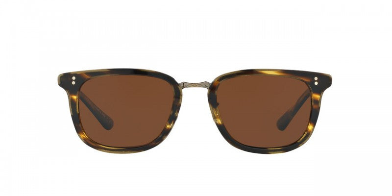 Oliver Peoples Kettner in Cocobolo/Antique Gold + Java Polar Glass