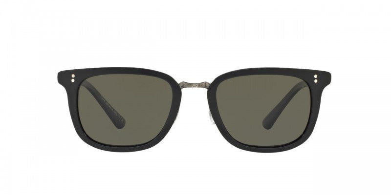 Oliver Peoples Kettner in Black/Antique Pewter + G-15 Polar Glass