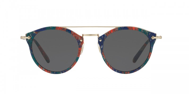Oliver Peoples Remick for Alain Mikli in Palmier Tropical with Grey