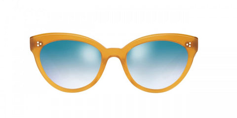 Oliver Peoples Ziane in Amber + Steel Gradient