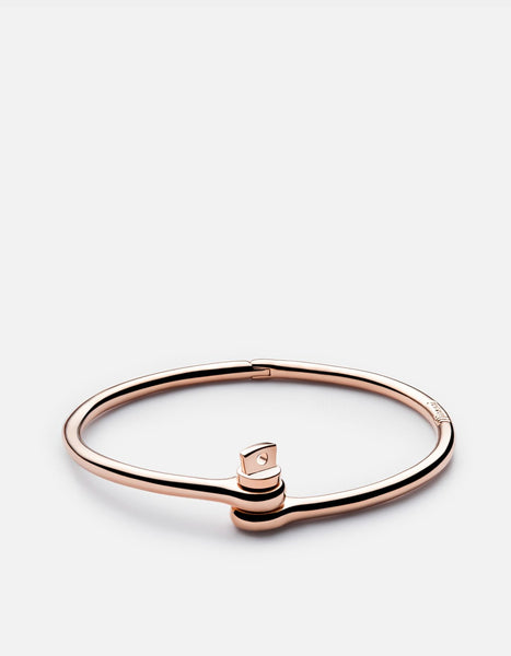 Miansai Ladies Thin Reeve Cuff in Rose