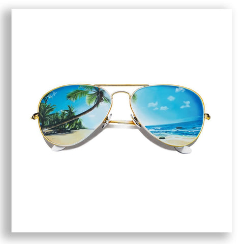 Erin Rothstein Art - BEACH SUNGLASSES