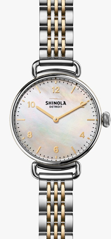 Shinola Ladies watch The Canfield 32MM in Stainless Steel