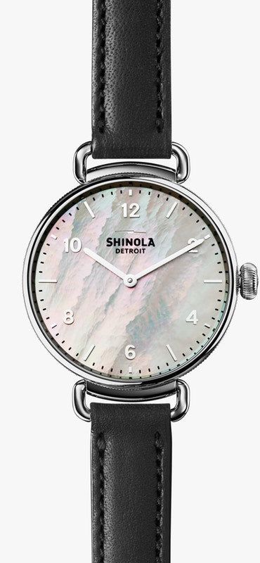 Shinola Ladies watch The Canfield 32MM in Black