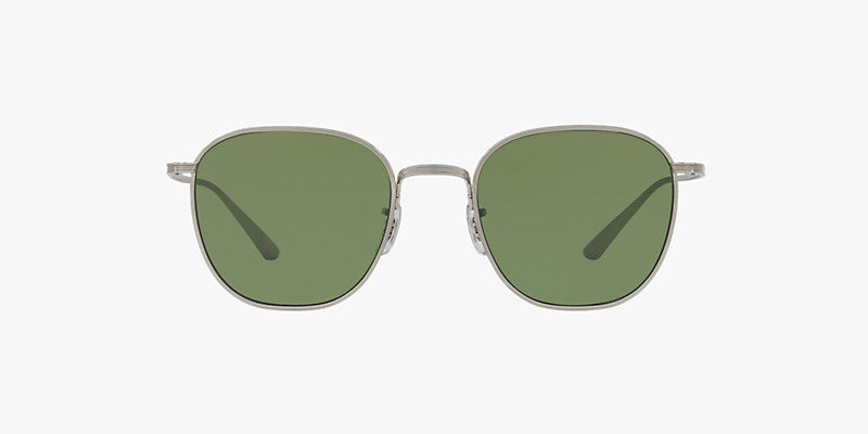 Oliver Peoples The Row Board Meeting 2 in Brushed Silver + G15 Lens