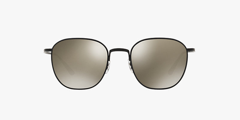 Oliver Peoples The Row Board Meeting 2 in Matte Black + Grey Goldtone Lens