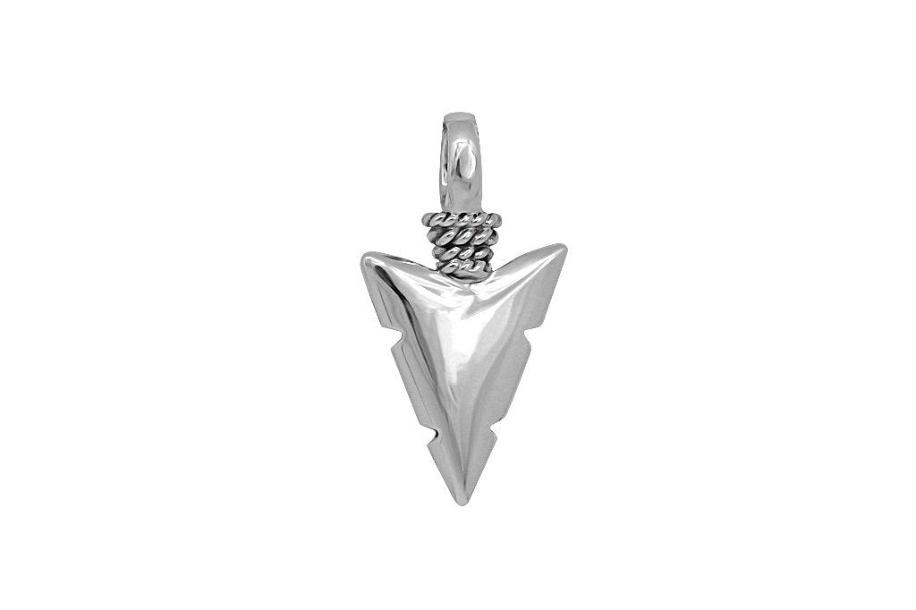 Kemmi Arrow Head Pendant Silver