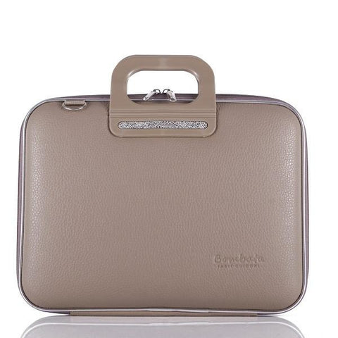 Bombata Bag Firenze Briefcase in Beige