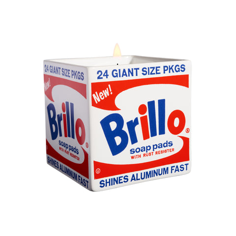 Bougie Andy Warhol, Brillo