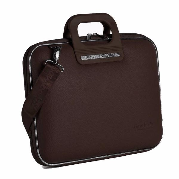 Bombata Bag Firenze Briefcase in Brown