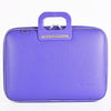 Bombata Bag Firenze Briefcase in Purple
