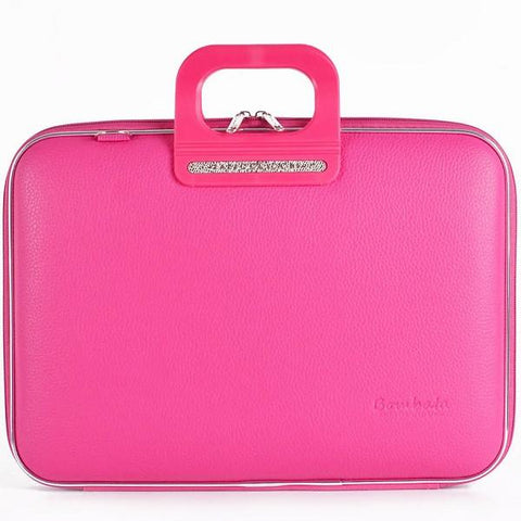 Bombata Bag Firenze Briefcase in Pink