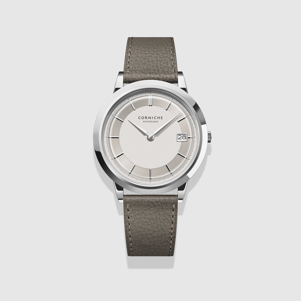 Corniche Watch White Dial