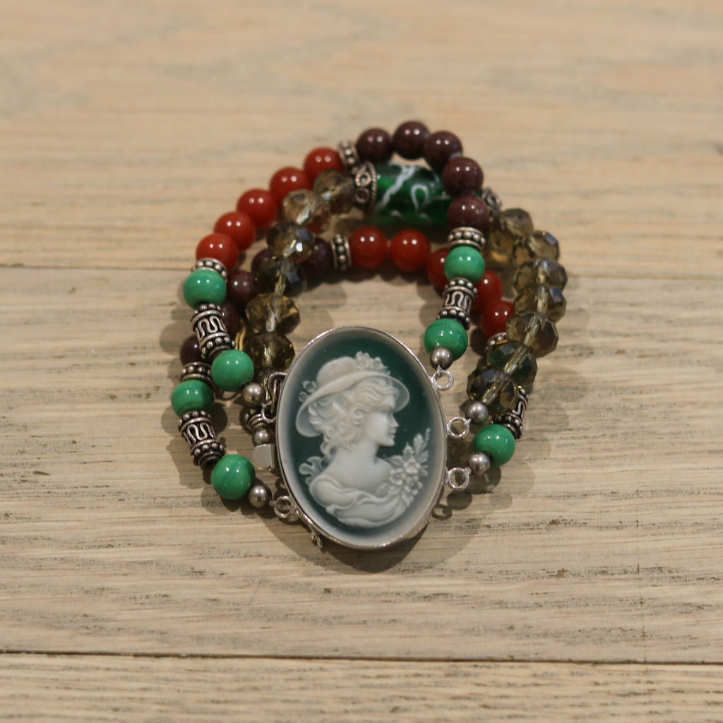Bloodstone Jewels Ladies Victorian Bracelet