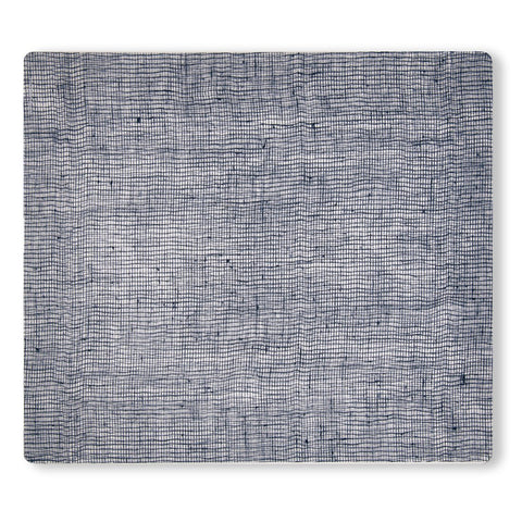 Modern-twist placemat Linen Denim