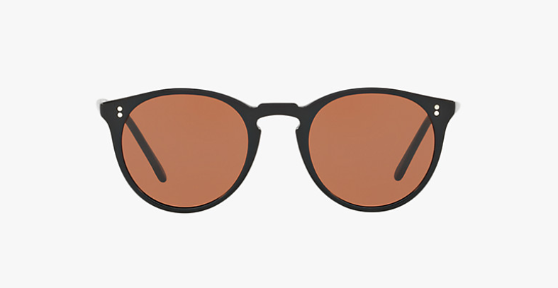 Oliver Peoples O'malley NYC in Pure Black + Brown Lens