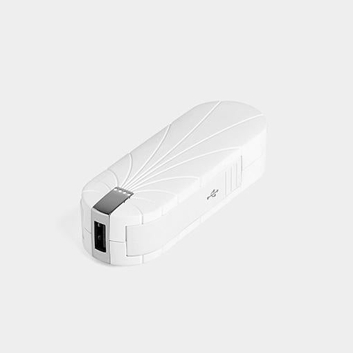 Powerbank Chargeur Portable Externe 3000 MAH Blanc White compact