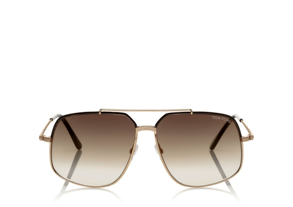 TOM FORD RONNIE / GOLD-BLACK