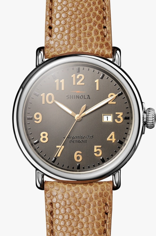 Shinola watch THE RUNWELL 47mm in Grey