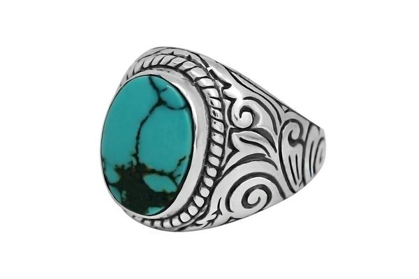Kemmi Ocean Turquoise Ring in Silver