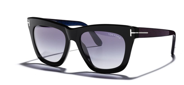 Tom Ford Sunglasses CELINA TF361 in Black