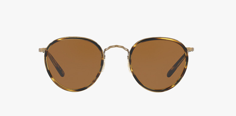 Oliver Peoples MP -2 Sun in Cocobolo + Brown Lens