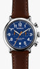 Shinola watch THE RUNWELL CHRONO 41MM in BLUE