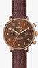 Shinola watch THE CANFIELD CHRONO 43MM in BROWN