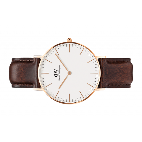 Daniel Wellington Women Classic white Bristol in 36MM