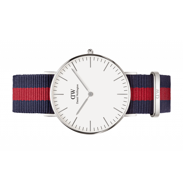 Daniel Wellington Women Classic white Oxford in 36MM