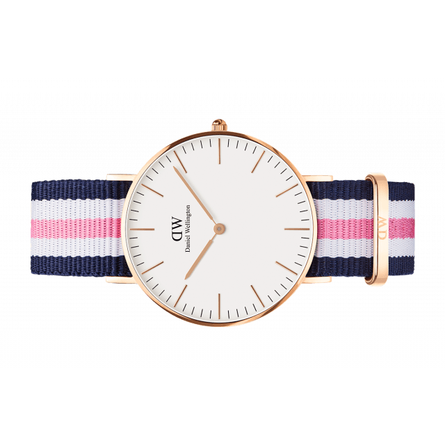 Daniel Wellington Women Classic white Southampton in 36MM