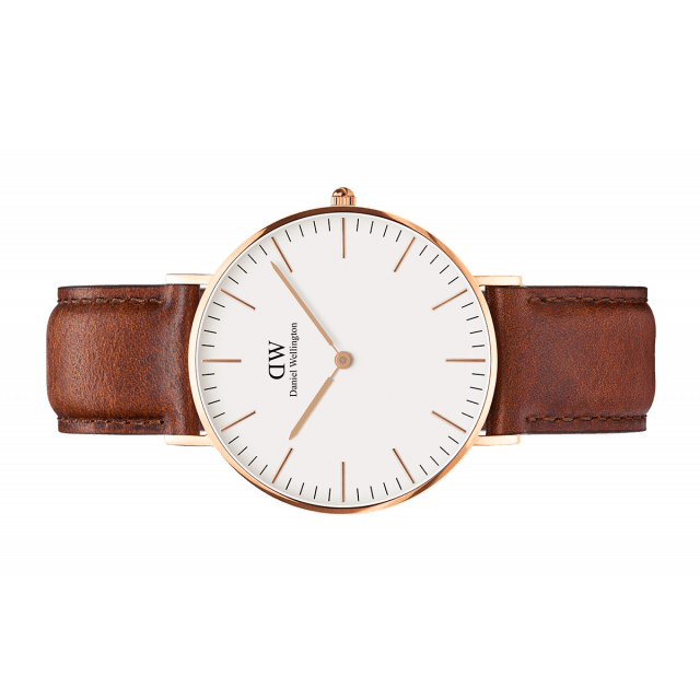 Daniel Wellington Women Classic white St Mawes in 36MM