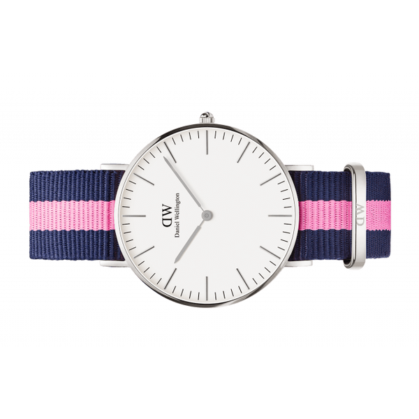 Daniel Wellington Women Classic white Winchester in 36MM