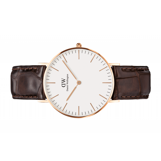 Daniel Wellington Women Classic York white in 36MM