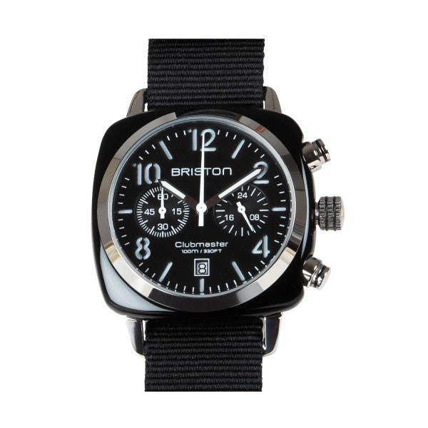 Briston Clubmaster Chrono black