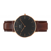 Daniel Wellington Women Classic black Bristol in 36MM