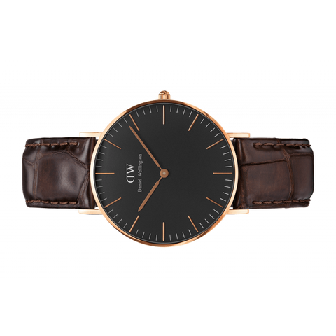 Daniel Wellington Women Classic York black in 36MM